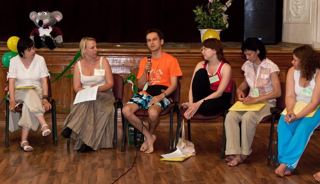 конференция по танцевально-двигательной терапии, 2010 г.