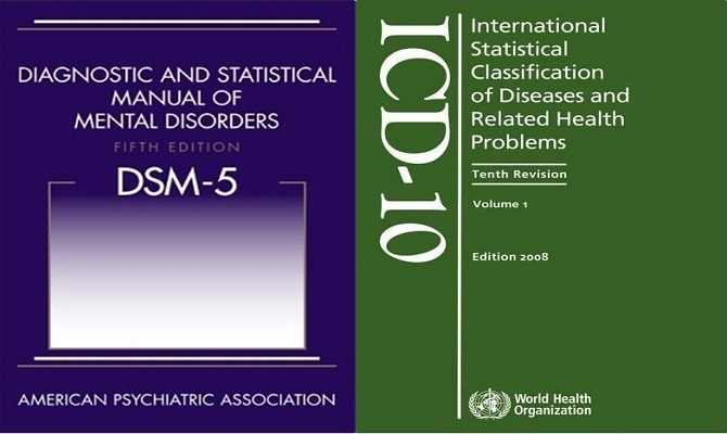 МКБ-10 и DSM-V